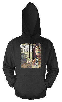 Walking Dead Toy Story Buzz Lightyear Woody Mash Up Kids Hoodie