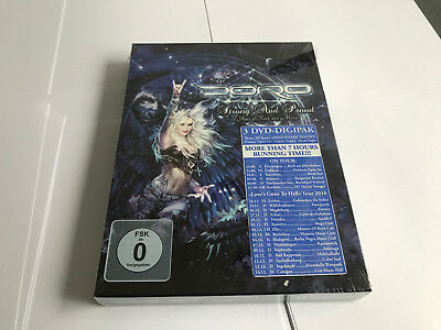 Doro Strong And Proud - 30 Years Of Rock And Metal  DVD NEW SEALED 727361335328