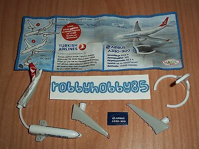 Dc093 F Airbus Turkish Airlines + Bpz Variante Germania Kinder 2013/2014