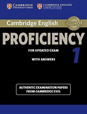 Cambridge English Proficiency 1 for Updated Exam Student's Book with Answers: Au