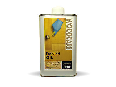 500ml Danish Oil for wood and worktops natural blend of food safe oils