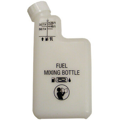 2 Stroke Oil Fuel Petrol Mixing Bottle for Strimmers / Chainsaws