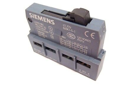 Siemens 3RV2901-1E Auxiliary Contact Block 2.5A/240VAC General Use