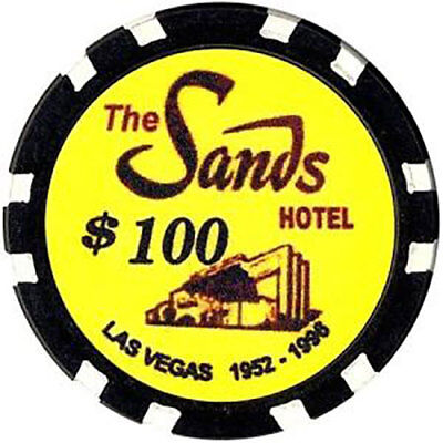 Fantasy Chip Sands $100 Casino Las Vegas Nevada Collectible Chips FREE Shipping*