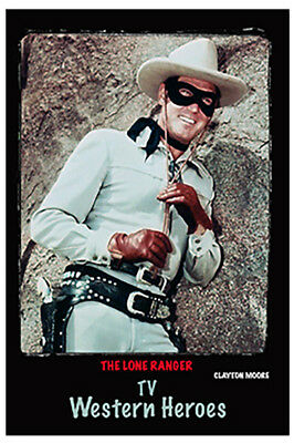 "4""x6"" MAGNET PRINT - ""The lone Ranger"" Clayton Moore"