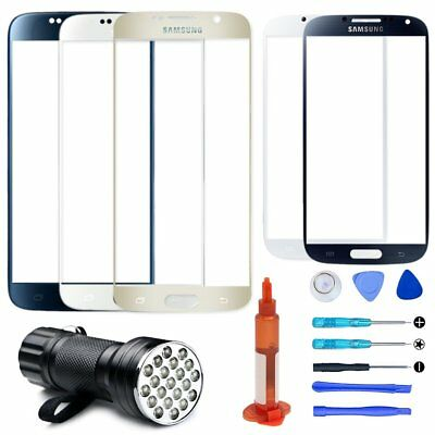 For Samsung Galaxy S3 S4 S5 S6 S7 Front Touch Screen Glass Lens Repair Kits OEM