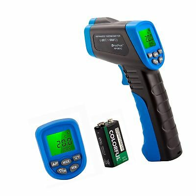HOLDPEAK 981C Non-Contact Digital Laser Infrared Thermometer Temperature Gun ...