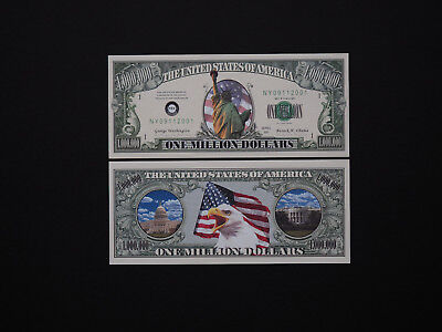 United States Presidents -  Brilliant 5 Banknote Set -  Very Rare and   MINT UNC