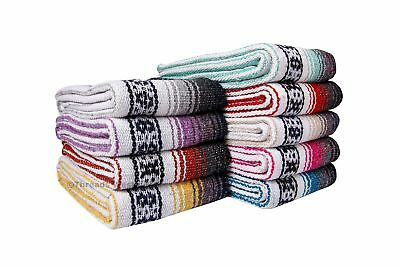 Threads West Genuine Premium Mexican Falsa Beach Blanket, Serape Stripe Beach...
