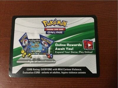 Pokemon TCG Online Code Packs & Singles.  Messaged.
