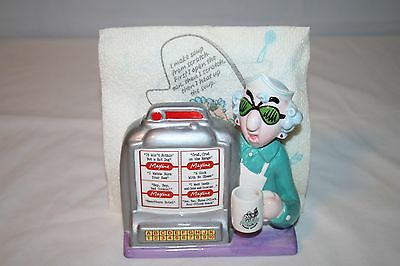 Maxine Jukebox Napkin Holder & 2 Maxine Napkins Hallmark