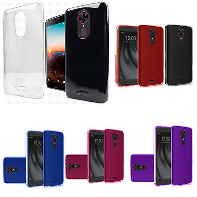 For T-Mobile Revvl Plus TPU CANDY Gel Flexi Skin Case Cover Accessory