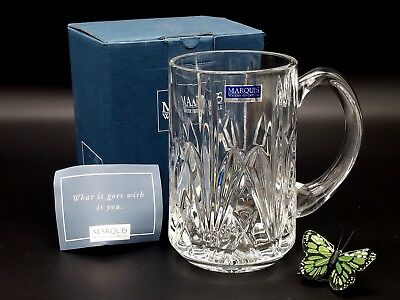 Waterford Beer Tankard Brookside Crystal Marquis Boxed Original Tags Collection