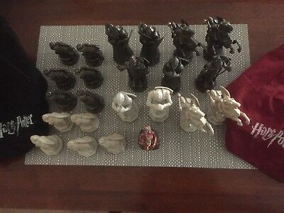 MATTEL Harry Potter Wizard Chess Game Figures  x 23 In Total Great Condition $40