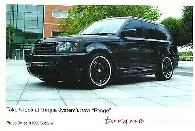 Take A Look At Torque Systems New Range Rover Period Photograph & Press Release