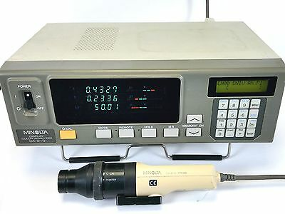 Konica Minolta CA-210 LCD TFT Color Analyzer CA-210 Probe, CA210 Flicker