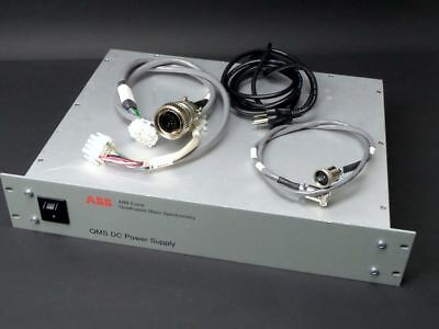 ABB Extrel Quadrupole Power Supply 815651 for QMS 150 with Cable
