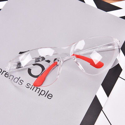 Eye Protection Anti Fog Clear Protective Safety Glasses For Lab Outdoor Work TK