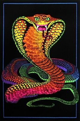 Cobra - Blacklight Poster - 23X35 Flocked 52522