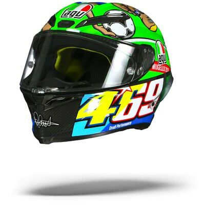 AGV Pista GP R Rossi Mugello 2017 Carbon Limited Edition Motorcycle Helmet