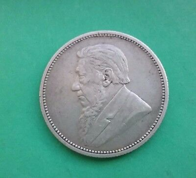 South Africa 1894 Silver 2 shillings