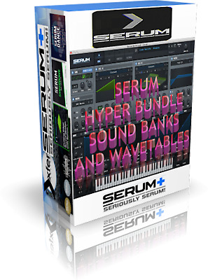 XFER RECORDS SERUM  sound banks and wavetables cubase reason logic live reaper
