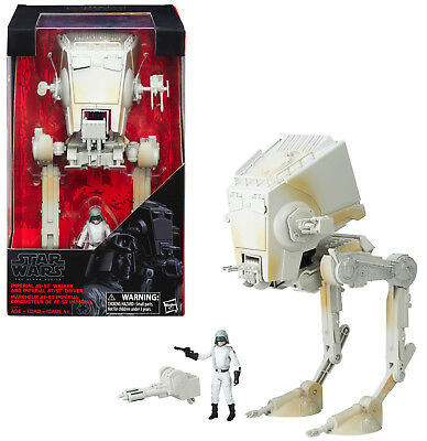 Star Wars Black Series ~ IMPERIAL AT-ST w/AT-ST DRIVER Action Figure Boxed Set