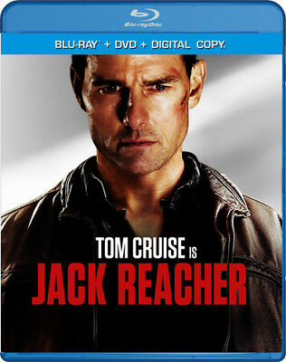 Jack Reacher [New Blu-ray] With DVD, UV/HD Digital Copy, Widescreen, 2 Pack, A