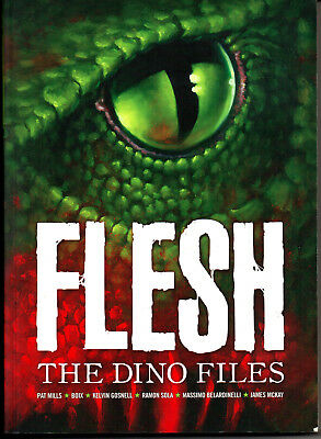 FLESH, THE DINO FILES Vol.1 - MILLS, BELARDINELLI - 2000AD