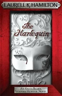NEW The Harlequin By Laurell K. Hamilton Paperback Free Shipping