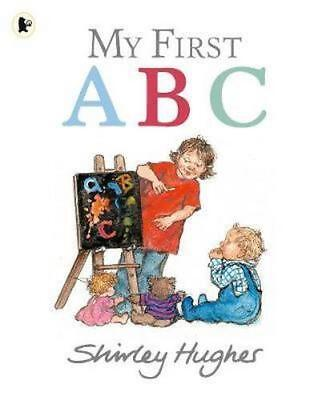 NEW My First ABC By Shirley Hughes Paperback Free Shipping