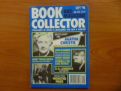 BOOK & MAGAZINE COLLECTOR No 174 - AGATHA CHRISTIE, MONSTER MAGS, D.H. LAWRENCE