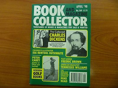 BOOK & MAGAZINE COLLECTOR No 169 - CHARLES DICKENS, MODERN GOLF BOOKS