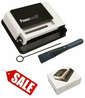 POWERMATIC I Manual Cigarette Easy Rolling Machine Make King Size and 100 Cigs