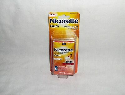 Nicorette 2 mg 20 Piece Fruit Chill - Sealed Blister Pack