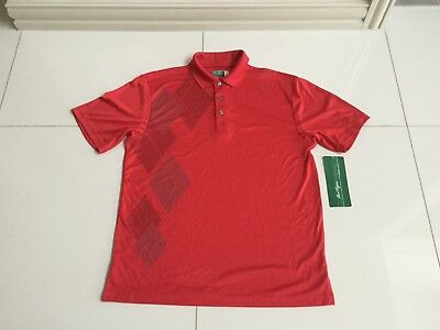 New BEN HOGAN Quick Dry Golf Shirt - RED