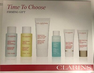 Clarins Firming Gift Set - 6 Pieces - NEW - FAST & FREE SHIPPING!