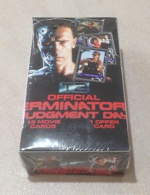 """1991 Impel """"Official Terminator 2: Judgment Day Movie Cards"""" - Sealed Box"""