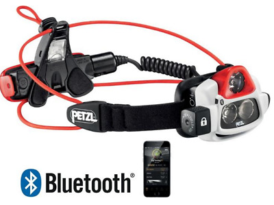 PETZL Nao+ 750 Lumens Headlamp BLUETOOTH rechargeable TOP STRAP / Red / $199.95