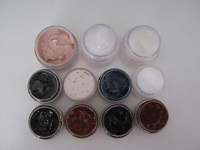 GENESIS HEAT SET PAINTS. 11 JAR starter set with full instructions.