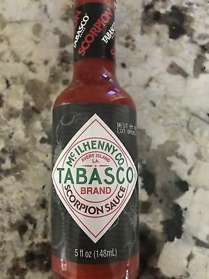 Tabasco Scorpion Limited Edition Hot Sauce In Hand!