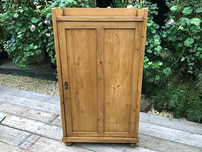 Gorgeous! Old Antique Pine Cupboard - Linen/kitchen/food/school/office/larder