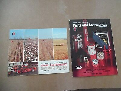 Nice 1966 International Harvester Ih Farm Equipment & Parts Accessories Catalog