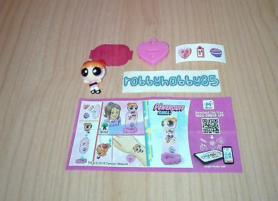 Se322 Lolly + Bpz Kinder Sorpresa Italia 2017/2018 The Powerpuff Girls