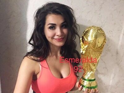 Fifa World Cup Trophy Replica 36cm Height 1.2kg Weight kilograms