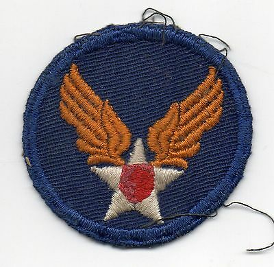 48085. Original WWII Shoulder Patch US Army Air Forces Embroidered Cotton used