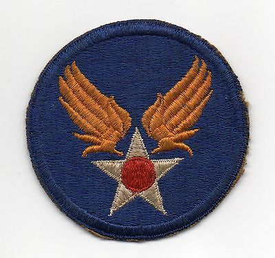 48084. Original WWII Shoulder Patch US Army Air Forces Fully Embroidered NOS