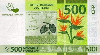 French Pacific Territories 500 francs 2014 / UNC / P 5 / 299