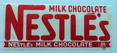 Vintage 40's 50's Nestles Candy Bar Wrapper - Milk Chocolate - FREE SHIPPING!!!