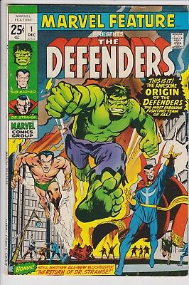 Marvel Feature #1 (Dec 1971, Marvel) F/VF 1st Appearance of the Defenders S